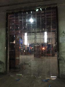 Şeffaf PVC Şerit Kapı
